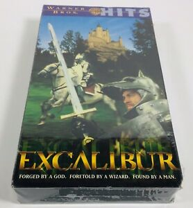 EXCALIBUR-VHS-Video-Tape-1981-Classic-Movie-NEW-FACTORY-SEALED-Nigel-Terry