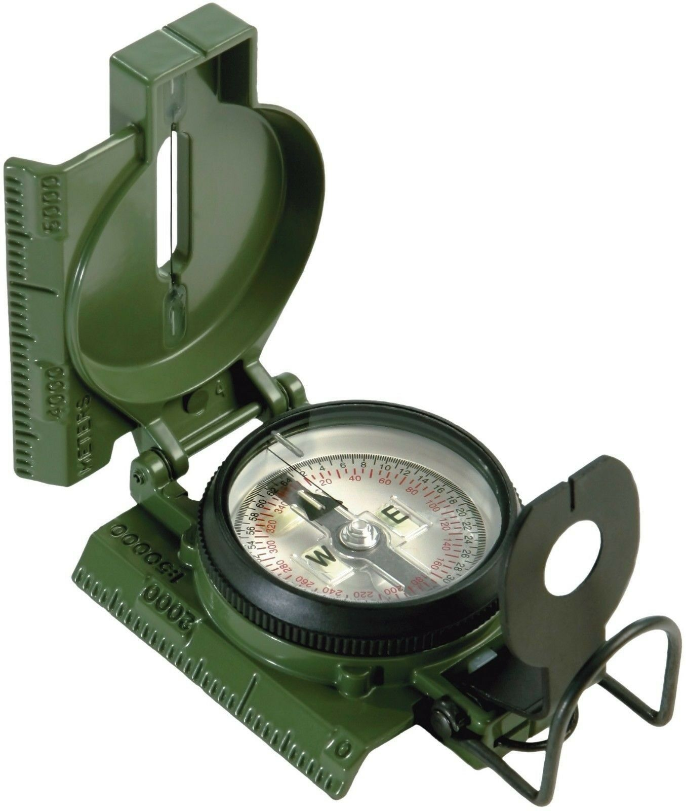 Official U.S. Military Tritium  Lensatic Compass G.I. Battle Compasses w  Pouch  40% off