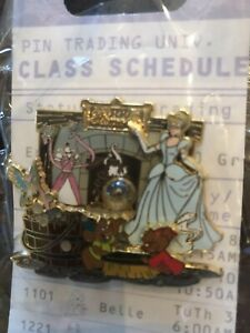 LE-500-Cinderella-Disney-Pin-Trading-Event-PTU-with-Gus-Jaq-amp-Bird