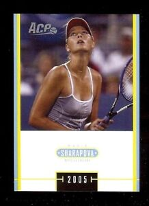 MARIA-SHARAPOVA-2005-ACE-TENNIS-034-SPECIAL-EDITION-034-ROOKIE-CARD-MS-17