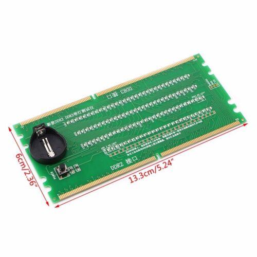 DDR2 und DDR3 2 im 1 Beleuchteter Tester mit Licht für Integrierte Desktop  P5Y5