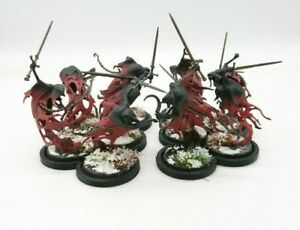 Warhammer-AoS-Death-Nighthaunt-Well-painted-Ten-10-Bladegeist-Revenants