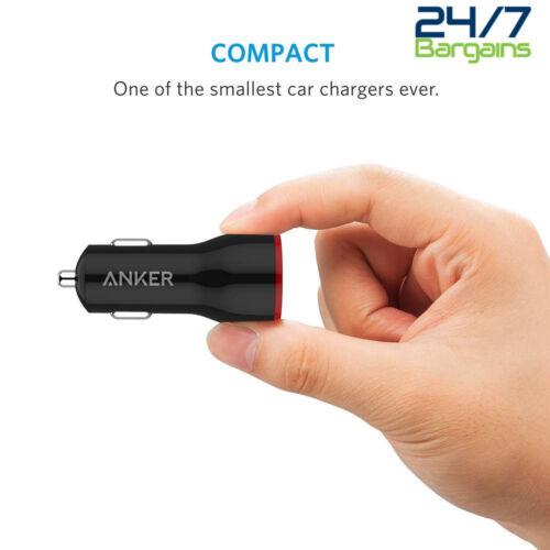 Anker PowerDrive 2 24 W 2-Puerto Dual USB Cargador de coche