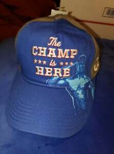 john-cena-wwe-authentic-cap-snapback-brand-new-the-champ-is-here-wwf-ship-fast