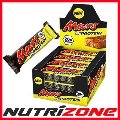 Disciplinato Mars Hi Barrette Proteiche Delizioso Cioccolato Caramello 20g Di Proteine Box 12 Bar- E La Digestione Aiuta