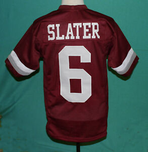 A.C. SLATER - SAVED BY THE BELL FOOTBALL JERSEY NEW SEWN ANY SIZE  1cea6ace31eb