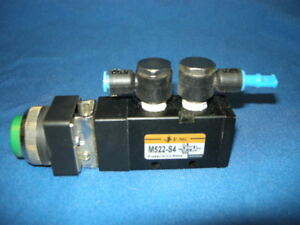 EMC-M522-S4-AIR-PNEUMATIC-CONTROL-VALVE-WITH-PUSH-BUTTON