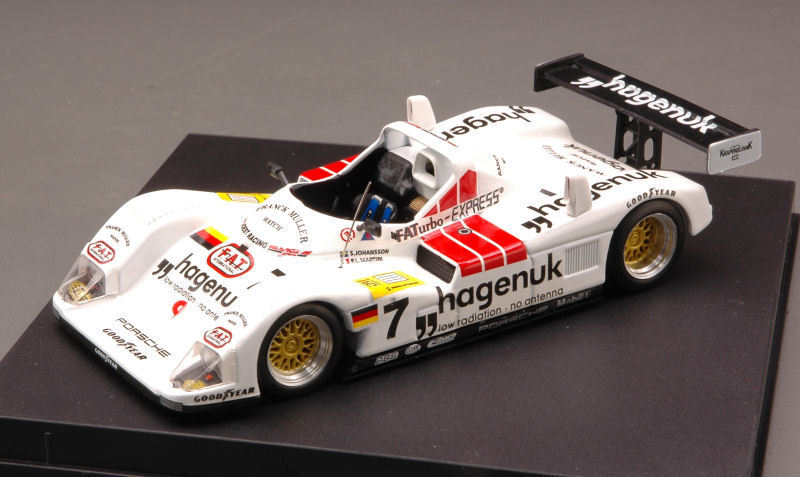 Porsche Joest  7 Winner Donington 1997 S.  Johansson   P. Martini 1 43 Model  qualité pas cher et top