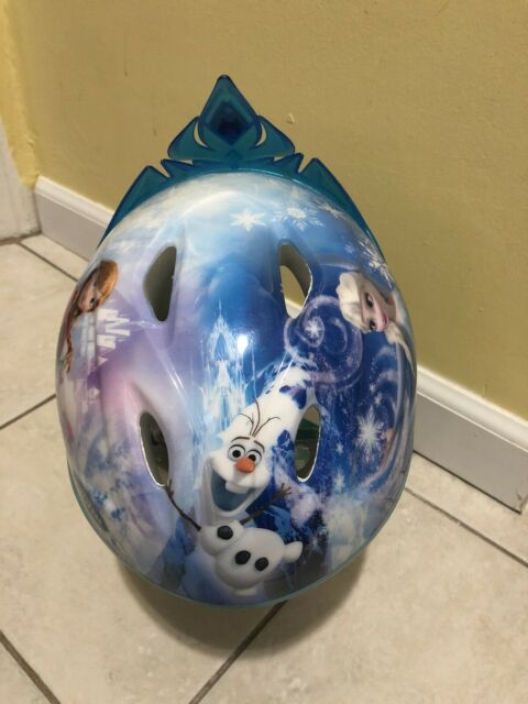 NEW Disney Frozen Olaf Bike Helmet Age 3-5 years