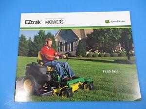 Original John Deere Sales Brochure Premium Lawn /& Garden Tractor M1348