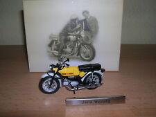 Atlas Jawa Mustang gelb yellow DDR Motorrad Moped1:24 Motorbike Moto