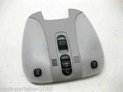 2002 MERCEDES S500 UPPER CONSOLE OVERHEAD DOME LIGHT A 215 820 11 01 OEM 00 1