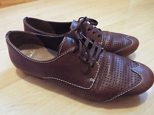 Image is loading Clarks-active-air-SIZE-UK-5-brown-leather-