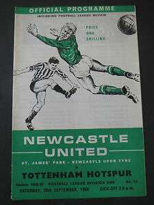 Newcastle-V-Tottenham-1968-9