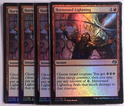 Harnessed Lightning ~ Kaladesh Magic MTG Excellent