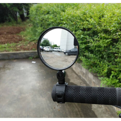 Bike Bicycle Cycling Classic Rear View Mirror Handlebar Flexible Safety Rearview