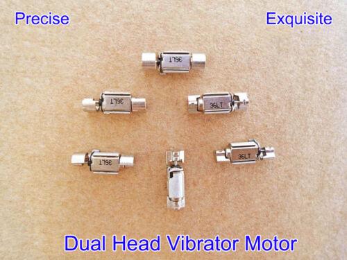 5PCS DC1.5V-3V Dual Head Small Vibration Vibrator Vibrating Motor Precise Rotor