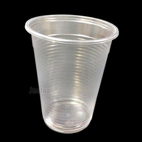 Clair Verre Party Tableware environ 198.44 g 100 en plastique jetable tasses d/'eau 7 oz