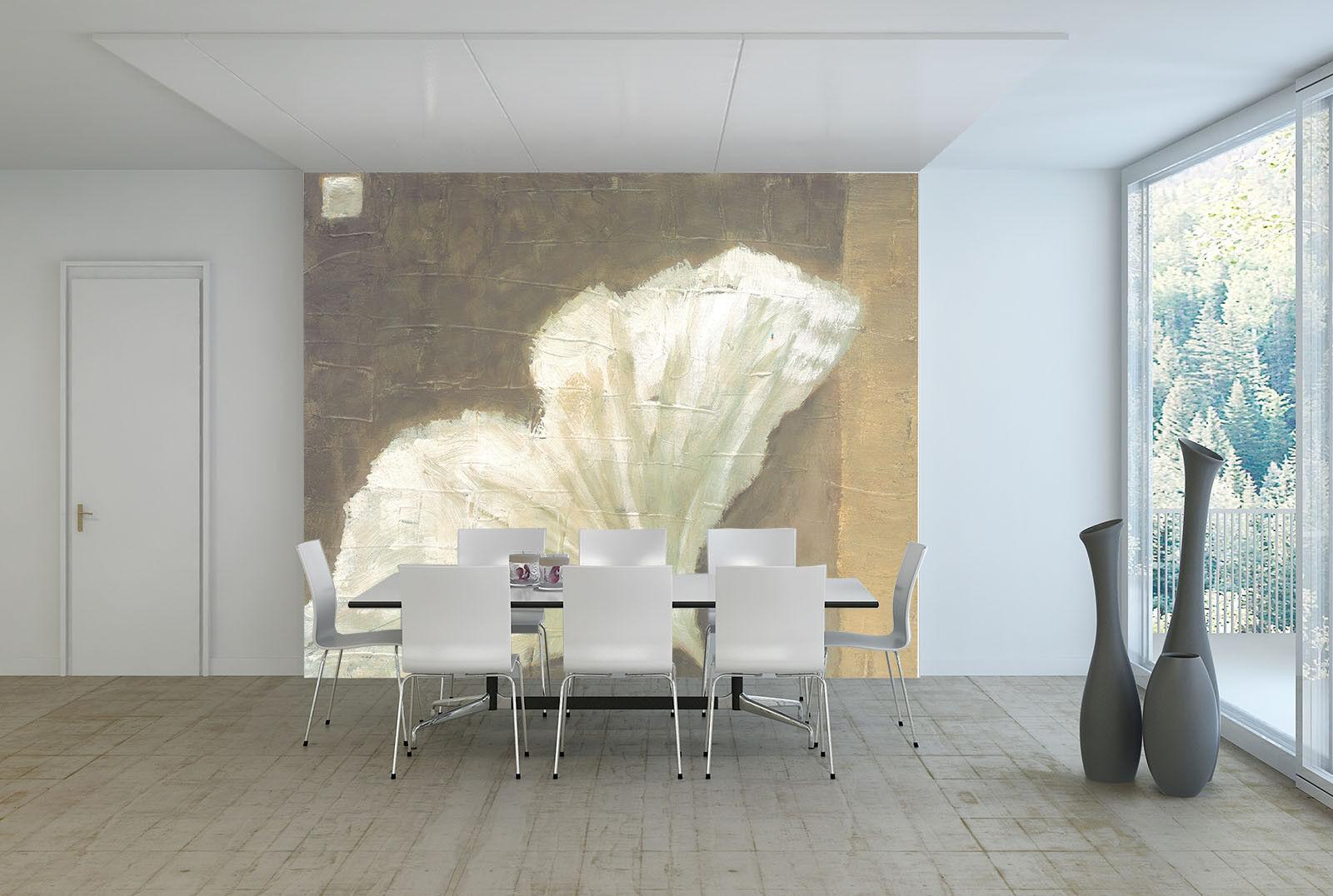 3D Weiß Flower 822 Wall Paper Murals Wall Print Wall Wallpaper Mural AU Kyra