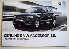 BMW . 1 . BMW 1 Series . Accessories 2011 Sales Brochure