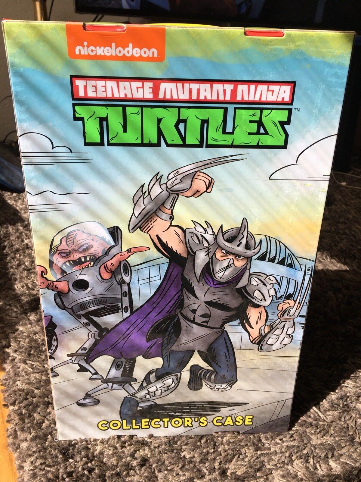 Neca Sdcc Comic Con 2018 Teenage Mutant Ninja Turtles Box Set Nuevo Completa