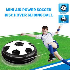 Mini-Air-Power-Fussball-Disc-Hover-Gleiten-Ball-Sport-Spielzeug-Kinder-Geschenk