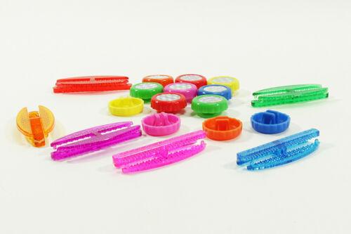 Nouveau Rayons-Réflecteurs 18-tlg Chats Yeux réflecteurs DUNLOP multicolores