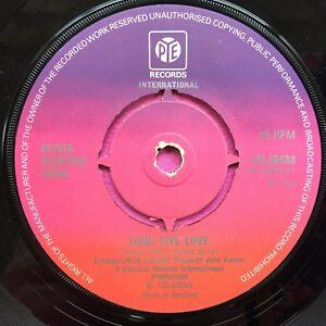 Olivia-Newton-John-Long-Live-Love-Pye-Records-7N-25638-Ex-Condition