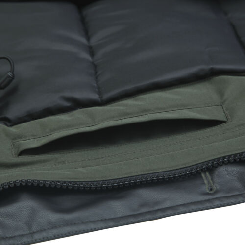 Men/'s Water-Resistant Heavy Insulated Thickened Warm Parka Jacket Coat Outwear