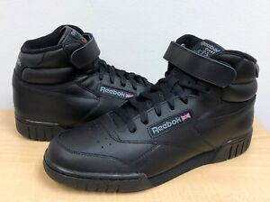 MENS REEBOK CLASSIC EX-O-FIT HI Black Black 3478 ATHLETIC  2dd072ed8