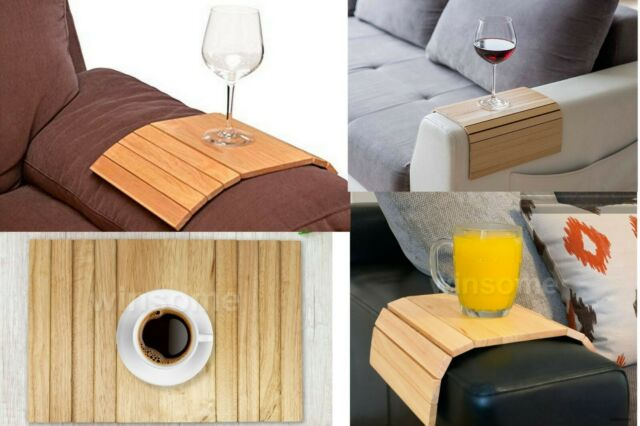 Wooden Tray Flexible Chair