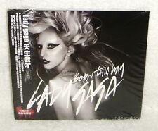 Lady Gaga Born This Way Taiwan CD w/OBI Digipak