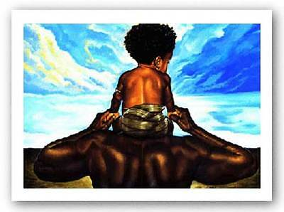 AFRICAN AMERICAN ART PRINT The Future Kevin Williams WAK 24x32