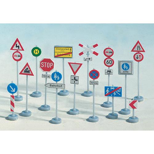 NOCH Traffic Signs (270) HO Gauge Scenics 60521