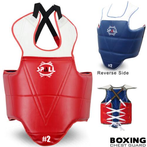 PUGILATO Belly Protettore Petto Guard MMA giubbotto antiproiettile Combattimento Allenamento Kickboxing