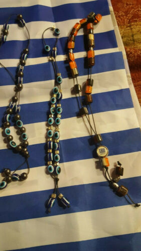 NW  WORRY BEADS KOMBOLOI GREEK sign Greece  FROM GREECE MANY STYLES