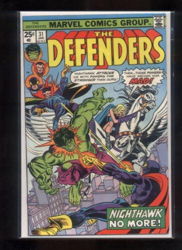 Defenders 31 FN Marvel  Dr Strange Hulk *CBX38