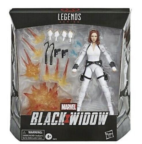 Marvel leggende Black Widow DELUXE FILM ACTION FIGURE HASBRO Nuovo di zecca con scatola Romanoff