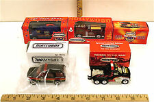 5 Pc Matchbox Superfast Toy Fair Collectors Club Die Cast Vehicles Limited Rare