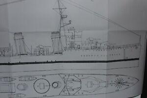 Planos-destructor-espanol-LEPANTO-modelismo-naval