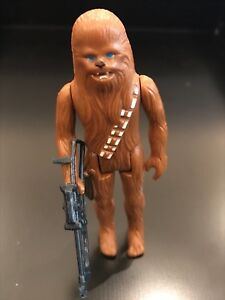 1977-Vintage-Star-Wars-Chewbacca-Action-Figure-Original-1st-12-Complete-Taiwan