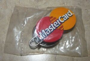 Sealed-Collectible-Plastic-Keychain-Keyring-Master-Card-Credit-Card