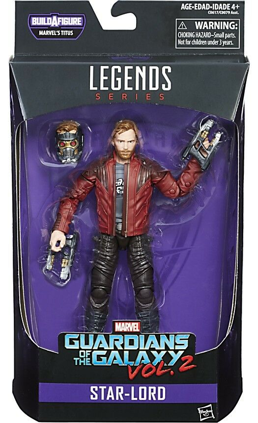 Marvel Legends Titus Series Series Series Star-Lord Action Figure 5bee6d