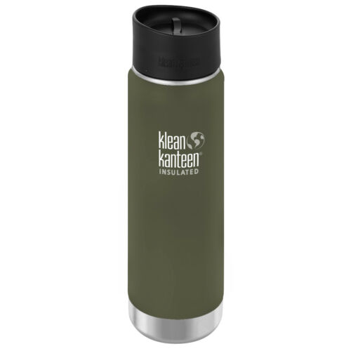 Klean Kanteen Trinkflasche Wide Vakuumisoliert 592ml mit Café Cap 2.0 Fresh Pine