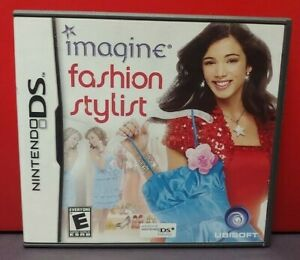 Imagine-Fashion-Stylist-Nintendo-DS-DS-Lite-3DS-2DS-Game-Complete-Tested