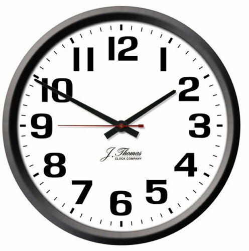 """Extended Battery Made in the USA! Fort Collins Atomic Wall Clock 13/"""" or 16/"""""""
