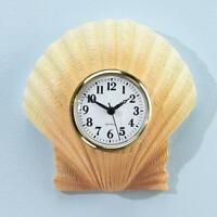 Shell Bathroom Clock - 7 Wide X 7 High