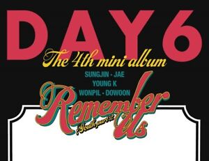 Details about DAY6 4th Mini Album [Remember Us : Youth Part 2] Random  CD+Photobook+Photocard