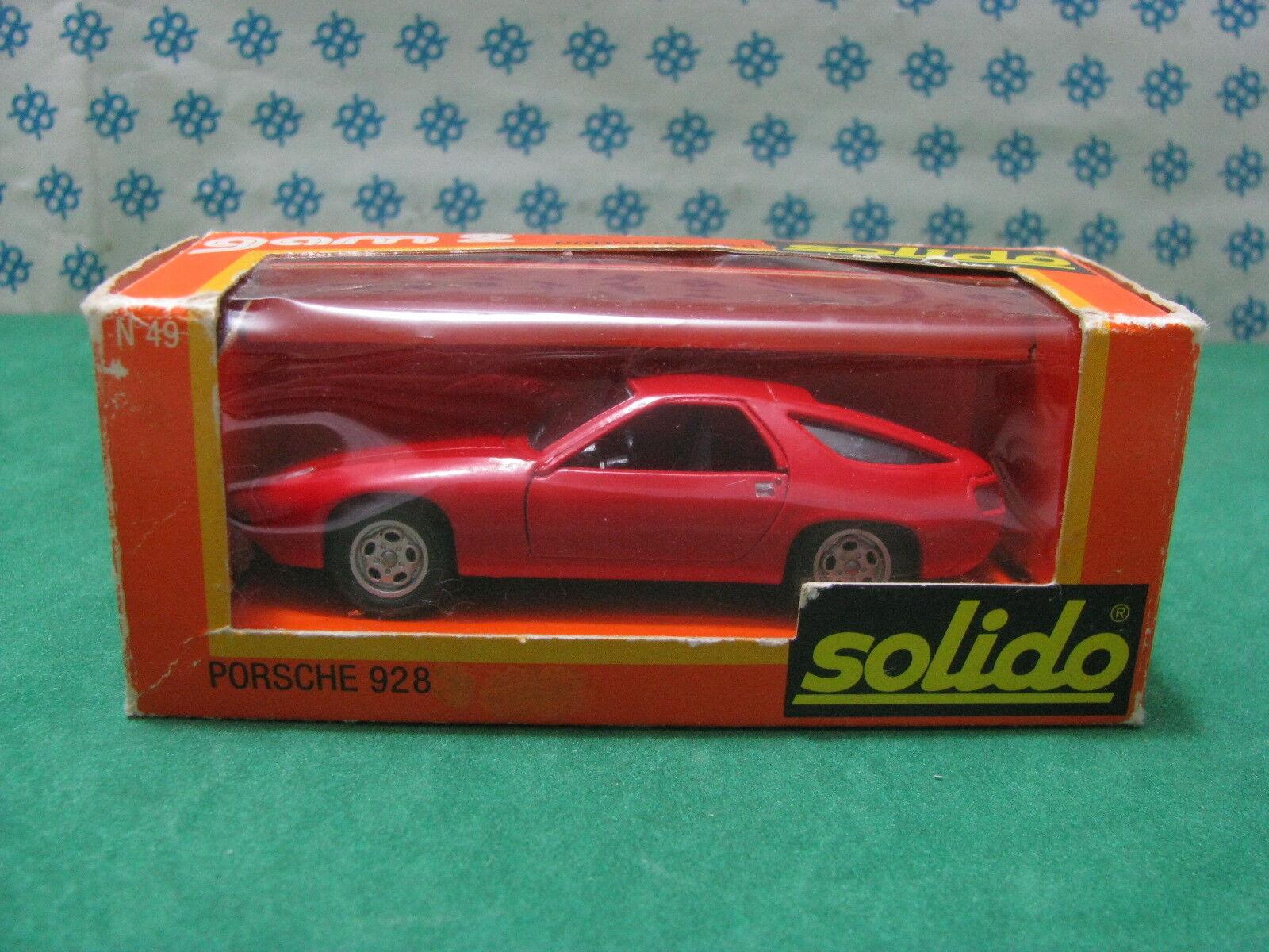 Vintage  -    PORSCHE 928    -  1 43 Solido Ref. 49 af9d36