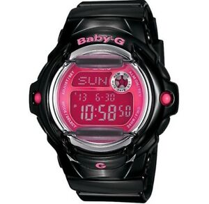 Casio-Baby-G-BG169R-1B-Glossy-Solid-Black-Gloss-w-Pink-Face-COD-PayPal